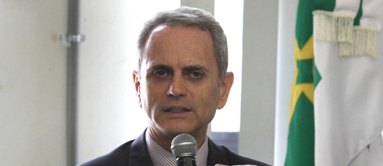 O ex-governador Paulo Octávio foi preso nesta segunda-feira em Brasília Foto: Givaldo Barbosa / Arquivo/Agência O Globo