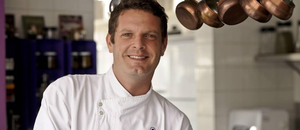 David Hertz, chef: 'Coxinha e brigadeiro também são gastronomia' Foto: Divulgação / Agência O Globo