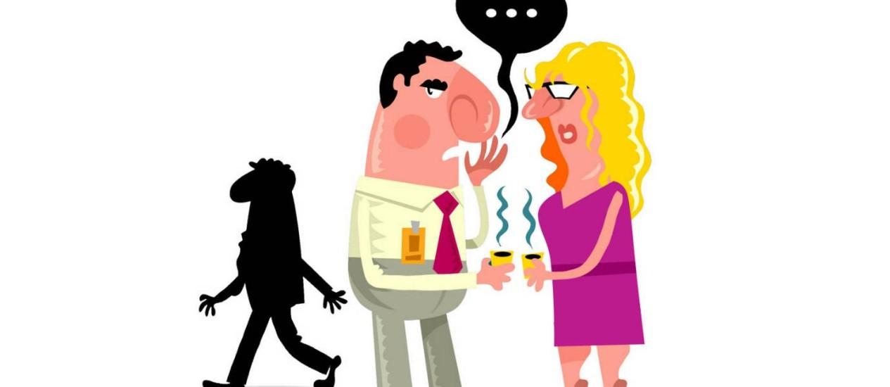Fofoqueiro: o perfil mais negativo no ambiente de trabalho Foto: Arte/O Globo