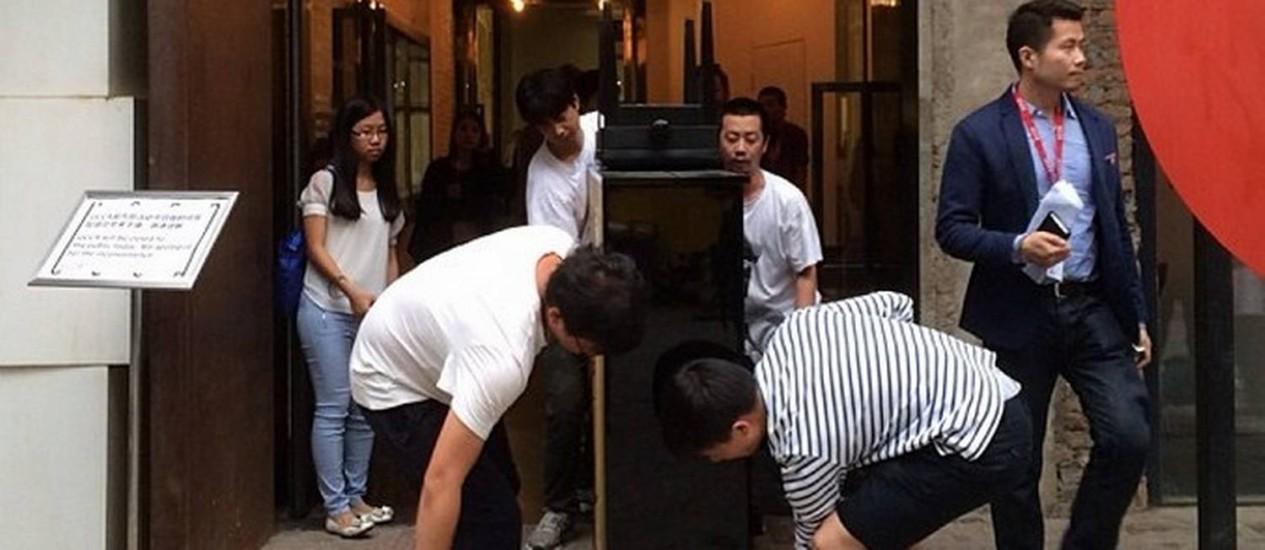 Ai Wei Wei retira obra de exposição na China Foto: Reprodução