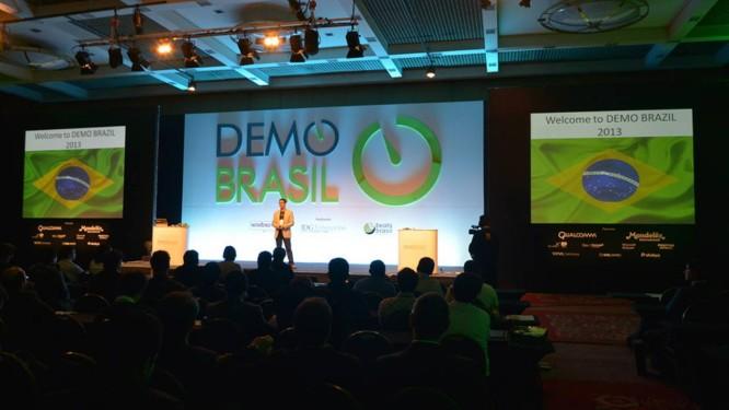 Foto da primeira Demo Brasil, em 2013: evento de empreendedorismo chega à sua segunda edição, no Rio Foto: DIVULGAÇÃO