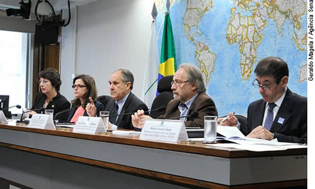 Audiência pública sobre maconha na Comissão de Direitos Humanos do Senado Foto: Geraldo Magela / Geraldo Magela/Agência Senado