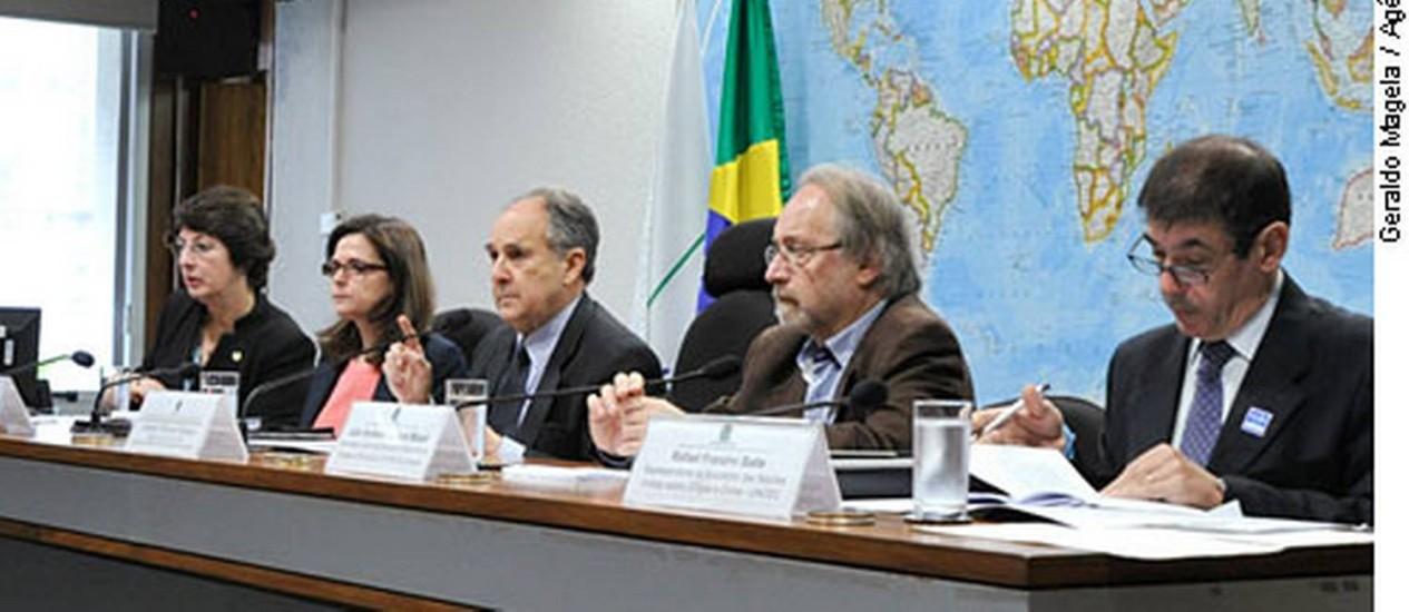 Audiência pública sobre maconha na Comissão de Direitos Humanos do Senado Foto: Geraldo Magela / Agência Senado