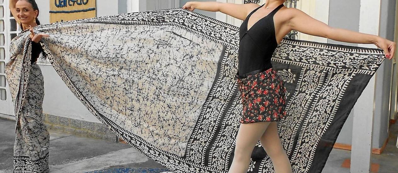 No ritmo. Alunas dos cursos da Casa Azul apresentarão números de danças que são ensinadas no local Foto: Divulgação/Reinaldo Figueiredo