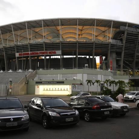Arena Fonte Nova. O novo estádio e seu entorno receberam melhorias Foto: Fernando Amorim/Agência A Tarde