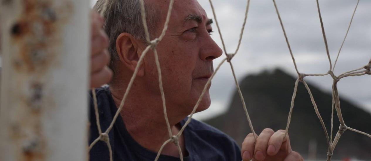 Christian Siquier, documentarista e jornalista: 'Sou o único francês que chorou de dor em 1998' Foto: Bianca Pimenta / Agência O Globo