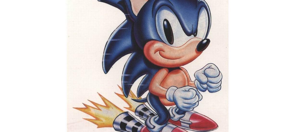 Sonic é um principais personagens dos jogos criados pela Sega Foto: Divulgação