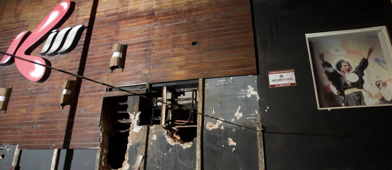 Boate Kiss foi destruída por um incêndio: 232 pessoas morreram Foto: RICARDO MORAES / REUTERS