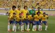 A seleção brasileira que vai disputar a Copa do Mundo