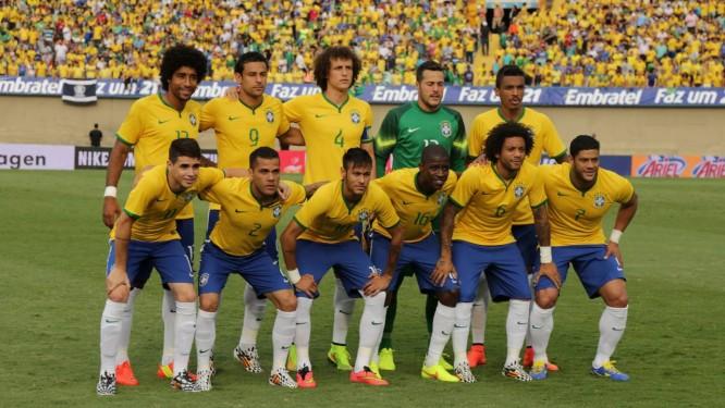 718c78c761 A seleção brasileira que vai disputar a Copa do Mundo Foto  Marcelo  Theobald   Extra
