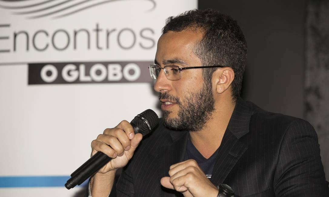 Bruno Quintella: 'Decidi, então, fazer um filme sobre meu pai' Foto: Daniela Dacorso / O Globo