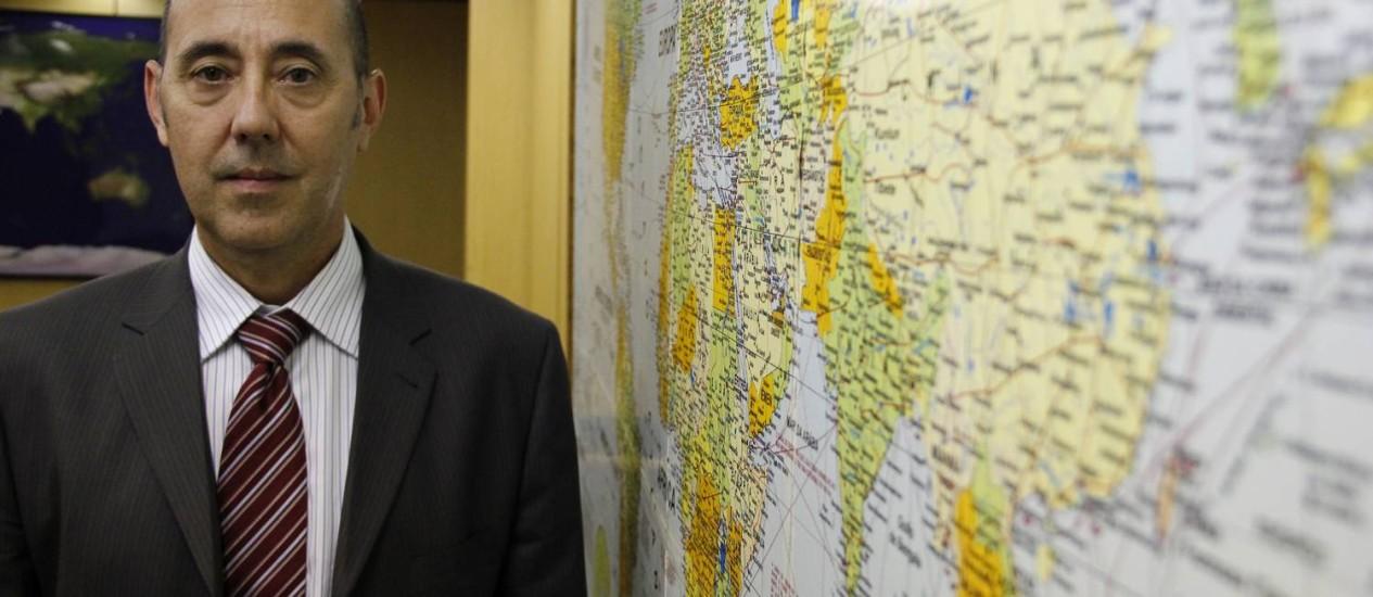 Estratégia mundial. André Nepomuceno Dusi Coordenador de Cooperação Técnica da Secretaria de Relações Internacionais da Embrapa Foto: Divulgação/ Eduardo Pinho