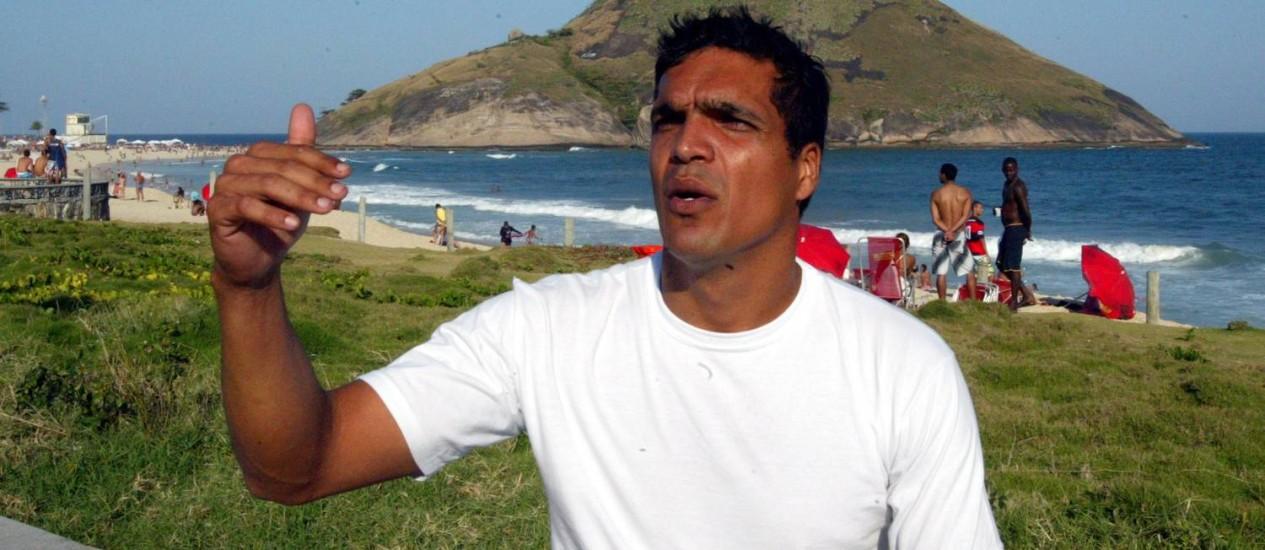 Promovido. Preso em 2012, o bombeiro Benevenuto Daciolo agora passará de cabo para terceiro sargento Foto: O Globo / Eurico Dantas