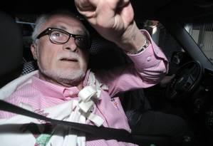 José Genoino foi condenado a prisão em regime semiaberto no processo do mensalão Foto: Eliaria Andrade / O Globo