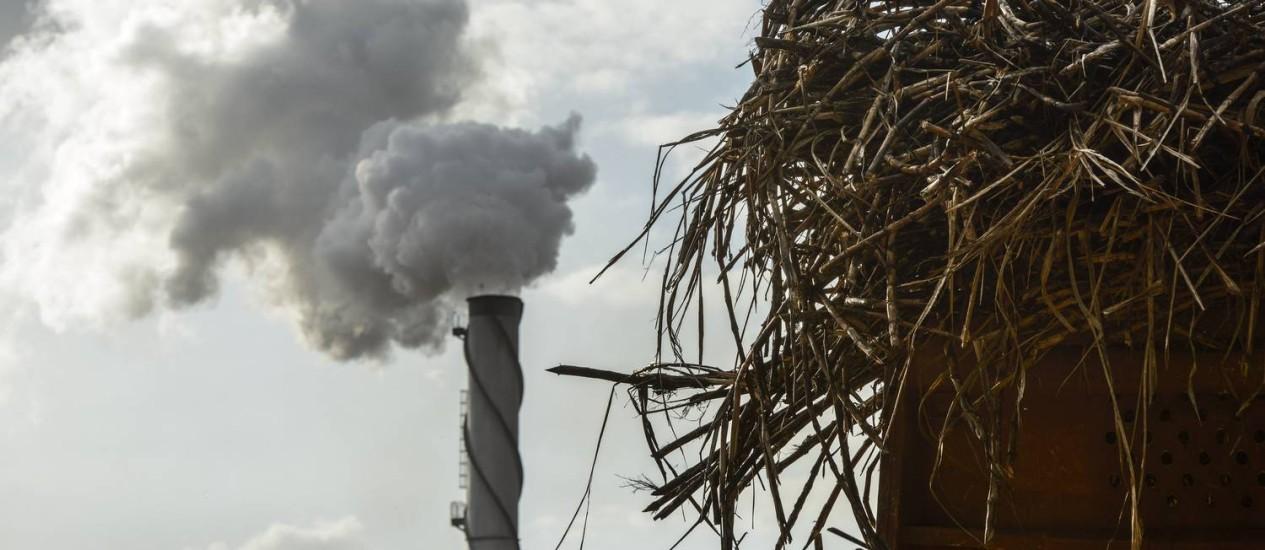 Ajuda. Usina de cana da Guarani, em São José do Rio Preto: medida também beneficiaria produtores de etanol Foto: Paulo Fridman / Bloomberg News/8-1-2013