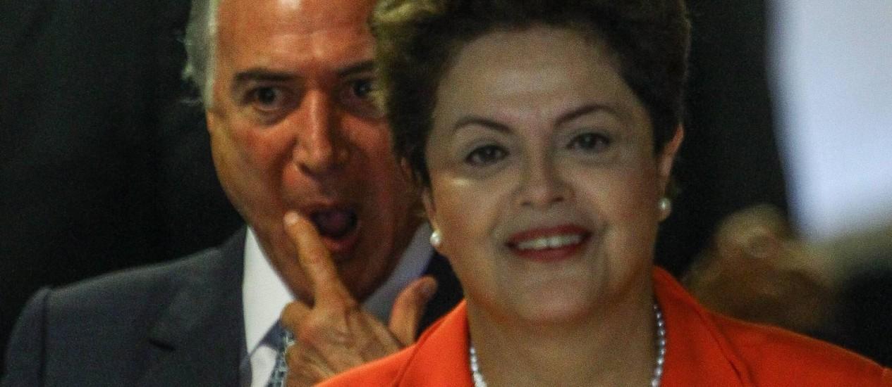 A presidente Dilma acertou participação na convenção do PMDB Foto: André Coelho / Arquivo/Agência O Globo