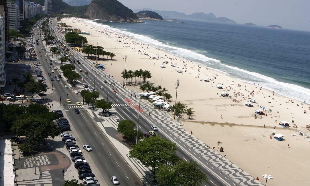 A Avenida Atlântica e suas intervenções - Jornal O Globo