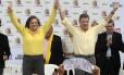 Juan Manuel Santos e Clara López. Unidos pela busca da paz com as Farc e contra o fantasma de Álvaro Uribe