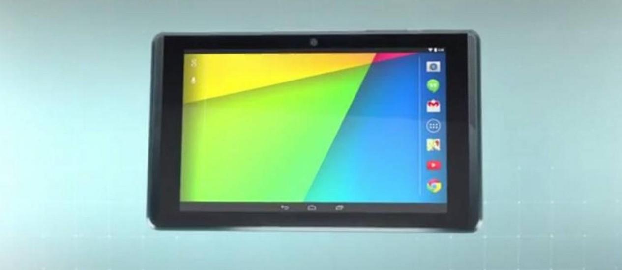 O novo tablet do Projeto Tango Foto: REPRODUÇÃO