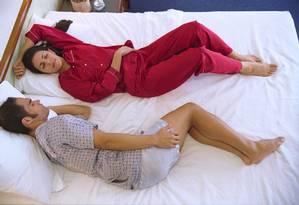 Estudo aponta que casal reproduz comportamento em 75% do tempo que estão juntos Foto: Leonardo Aversa