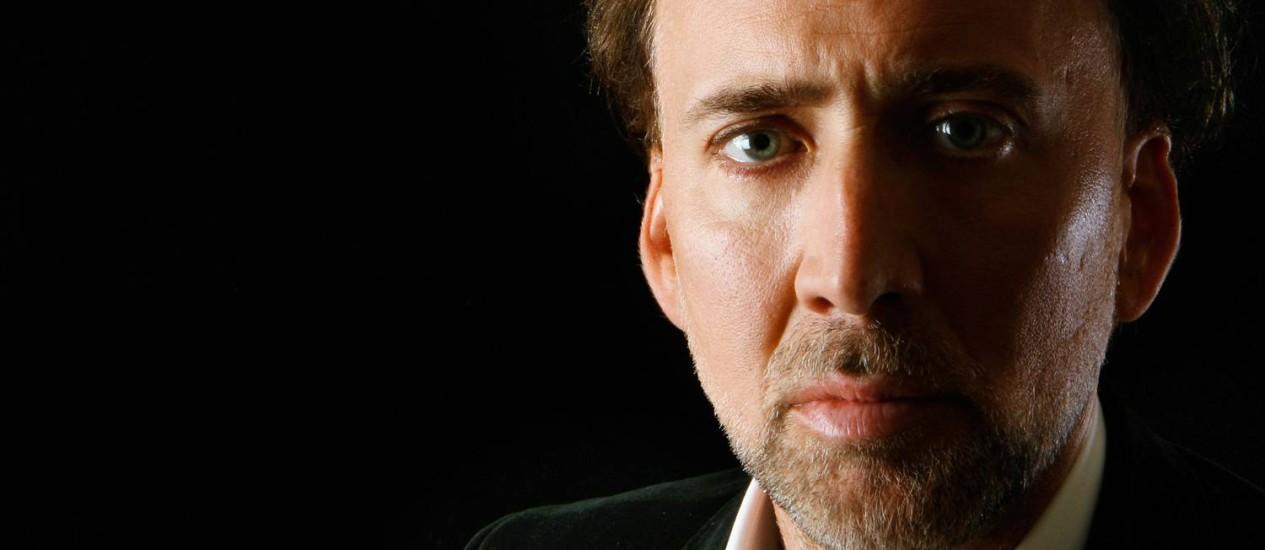 Nicolas Cage em foto de 2009 Foto: Lucas Jackson / REUTERS