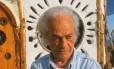 O poeta chileno Nicanor Parra, que completa 100 anos em setembro