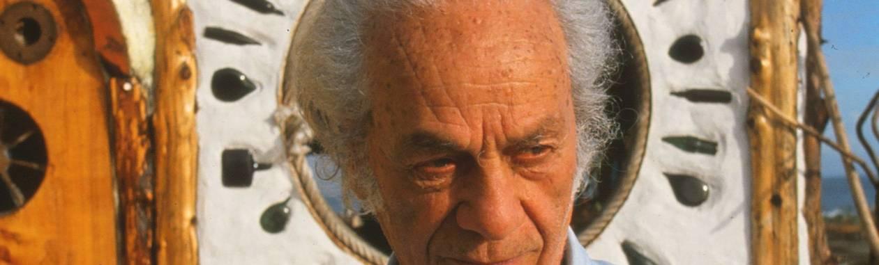 O poeta chileno Nicanor Parra, que completa 100 anos em setembro Foto: El Mercurio