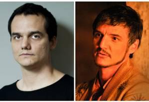 Wagner Moura e Pedro Pascal Foto: Reprodução