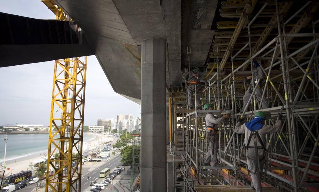Com 9,8 mil metros quadrados, MIS terá de salas de exposição, teatro e cinema a bar e boate Foto: Márcia Foletto / Agência O Globo