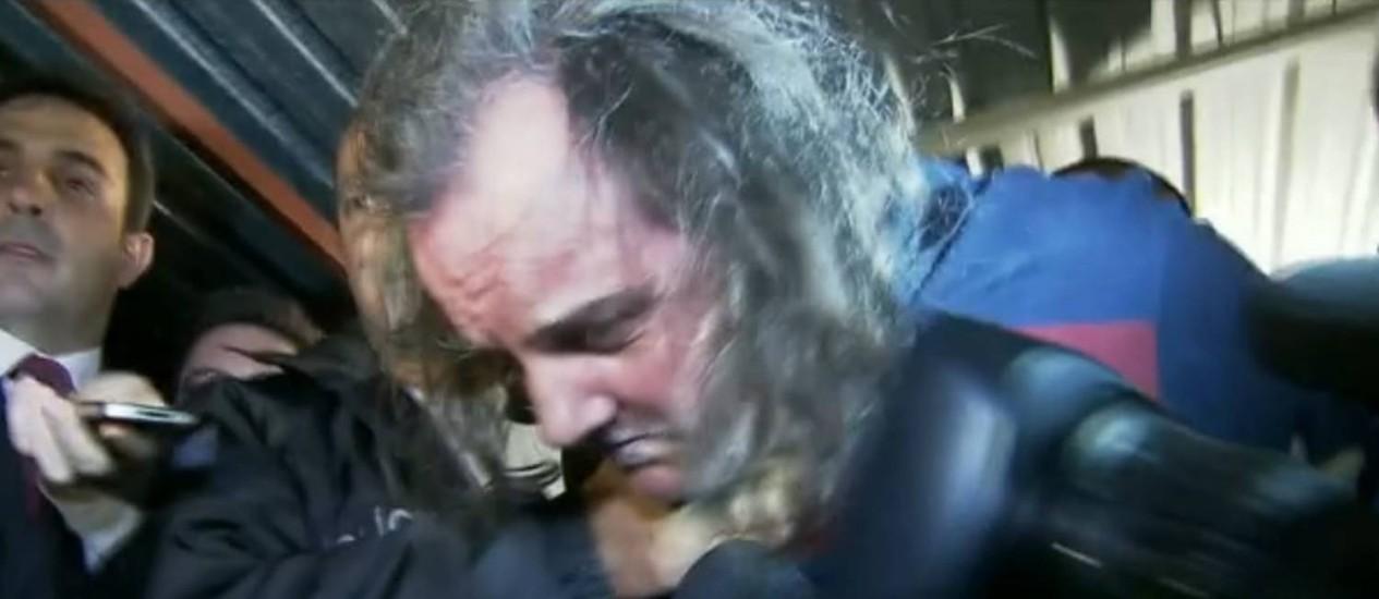 Arma achada com publicitário acusado foi usada em crime cometido no Rio em 2005 Foto: Reprodução de imagem / TV Globo