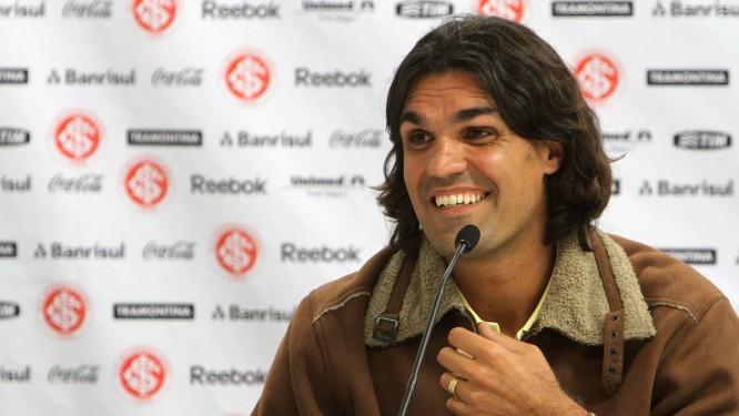 Fernandão era um dos maiores ídolos do Internacional, pelo qual conquistou o Mundial de Clubes em 2006 Foto: Vipcomm / Divulgação