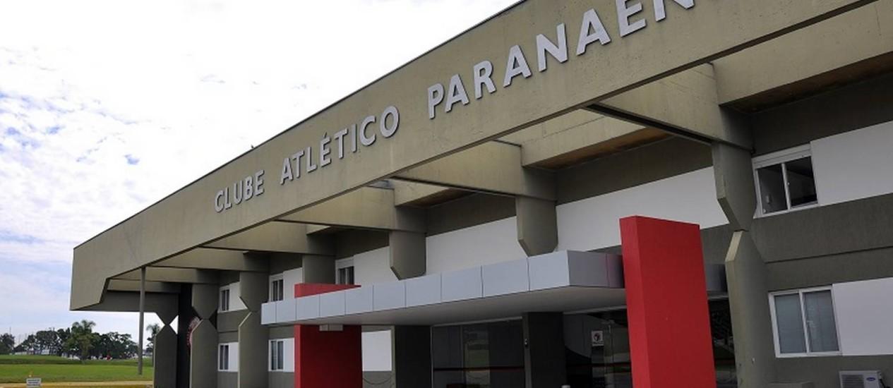 Entrada do CT do Caju, onde a seleção espanhola ficará hospedada na primeira fase da Copa do Mundo Foto: Gustavo Oliveira/Divulgação