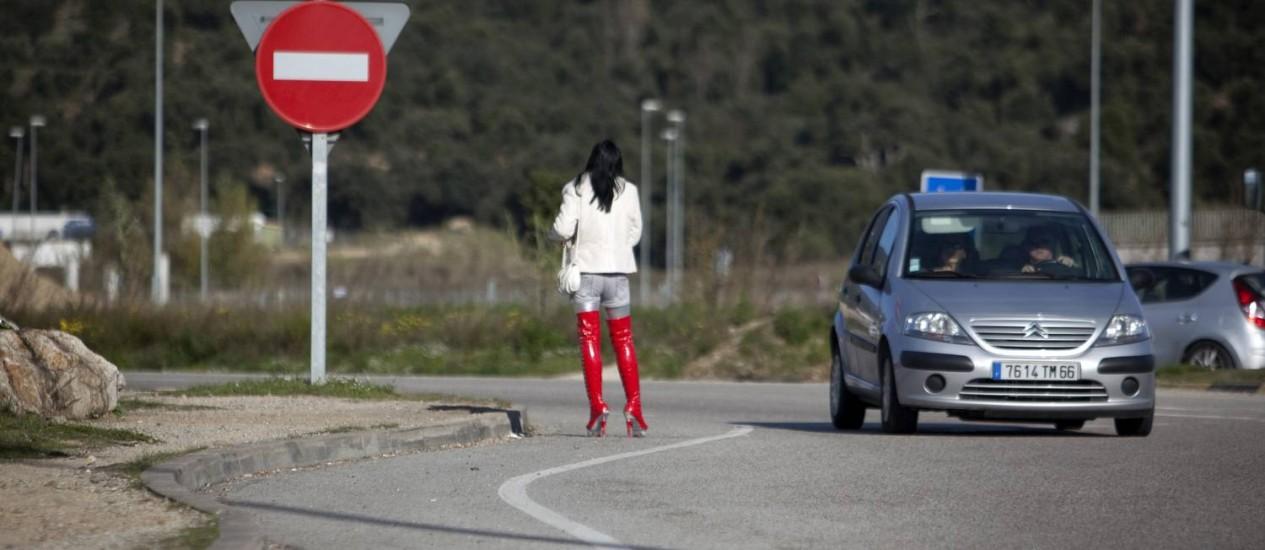 Prostituição nas ruas da Espanha Foto: The New York Times/11-12-2011
