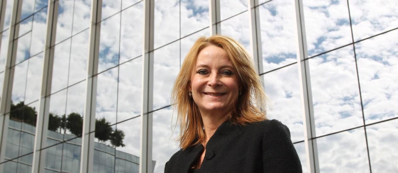 """Variedade. Maria Eugênia, do Santander: """"A diversificação de investimentos é uma tendência"""" Foto: Marcos Alves / Marcos Alves"""