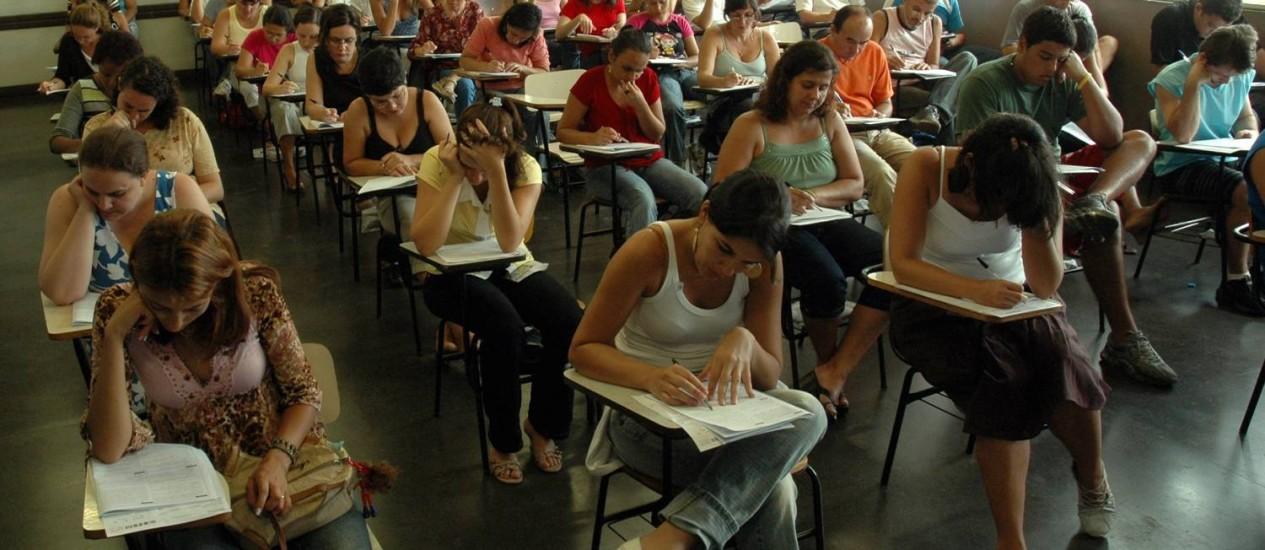 14.01.2007 - Alexandre Durão - EXT CI - Concurso público para o TRE - Foto: Alexandre Durão
