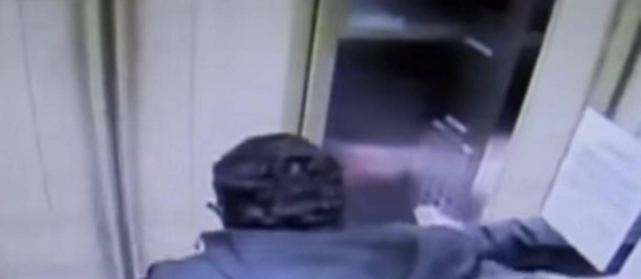 José Vergara, de 31 anos, teve ferimentos na cabeça e nas pernas Foto: Reprodução YouTube
