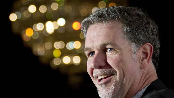 Reed Hastings, cofundador da Netflix: só em ações, fortuna chega a US$ 900 milhões, segundo 'Forbes' Foto: Norm Betts / Bloomberg