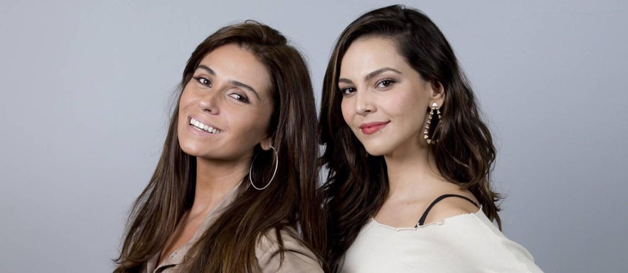 Clara (Giovanna Antonelli) e Marina (Tainá Müller) Foto: Simone Marinho / Agência O Globo