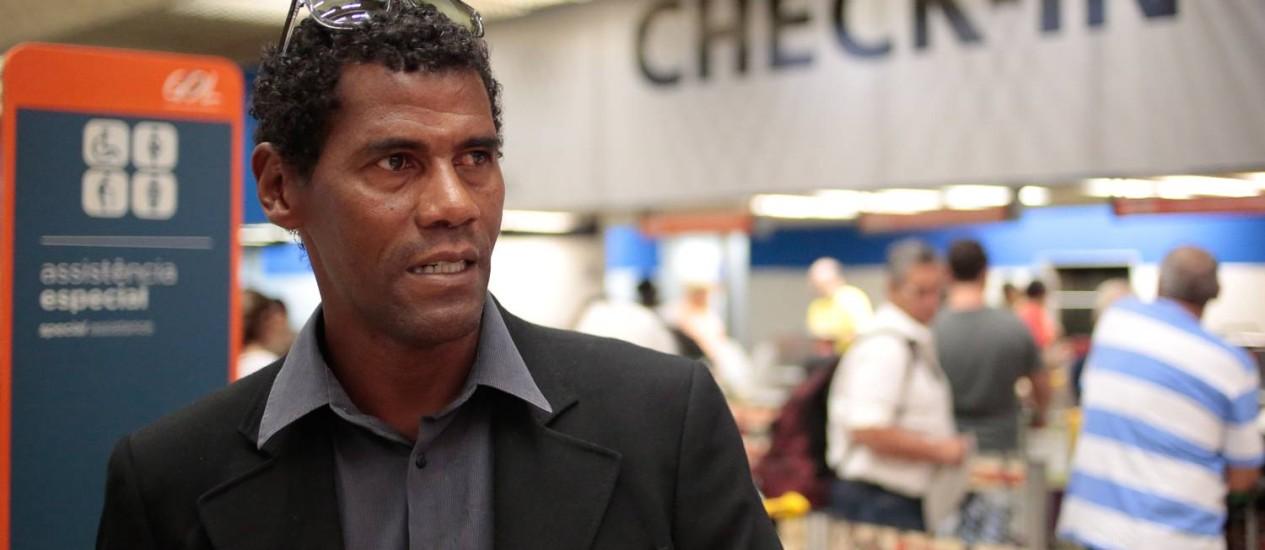 Aldair diz que Thiago Silva é o melhor zagueiro do mundo Foto: Pedro Kirilos/9-6-2014