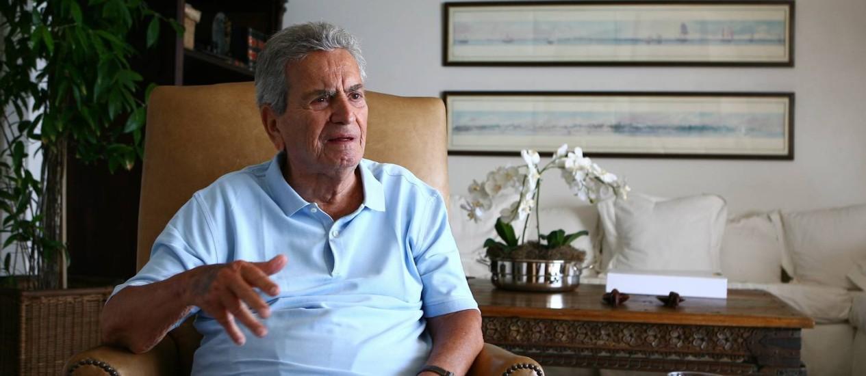 O ex-governador do Rio Marcello Alencar, que morreu aos 88 anos Foto: Marco Antônio Cavalcanti / Agência O Globo