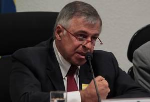 O ex-diretor da Petrobras, Paulo Roberto Costa, durante depoimento na Comissão Parlamentar de Inquérito da Petrobras Foto: Givaldo Barbosa / O Globo