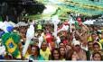 Torcida do Alzirão na Copa de 2010: tradicional evento vai interditar ruas da Tijuca