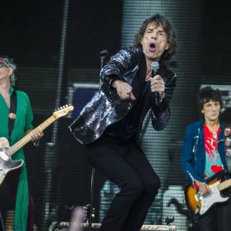 Os Rolling Stones fazem show em Berlim Foto: THOMAS PETER / REUTERS