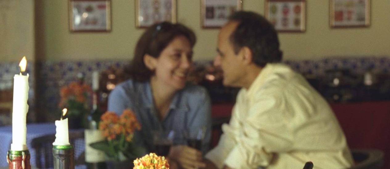 Jantar romântico é uma das opções para comemorar o dia dos namorados Foto: Adriana Calderoni