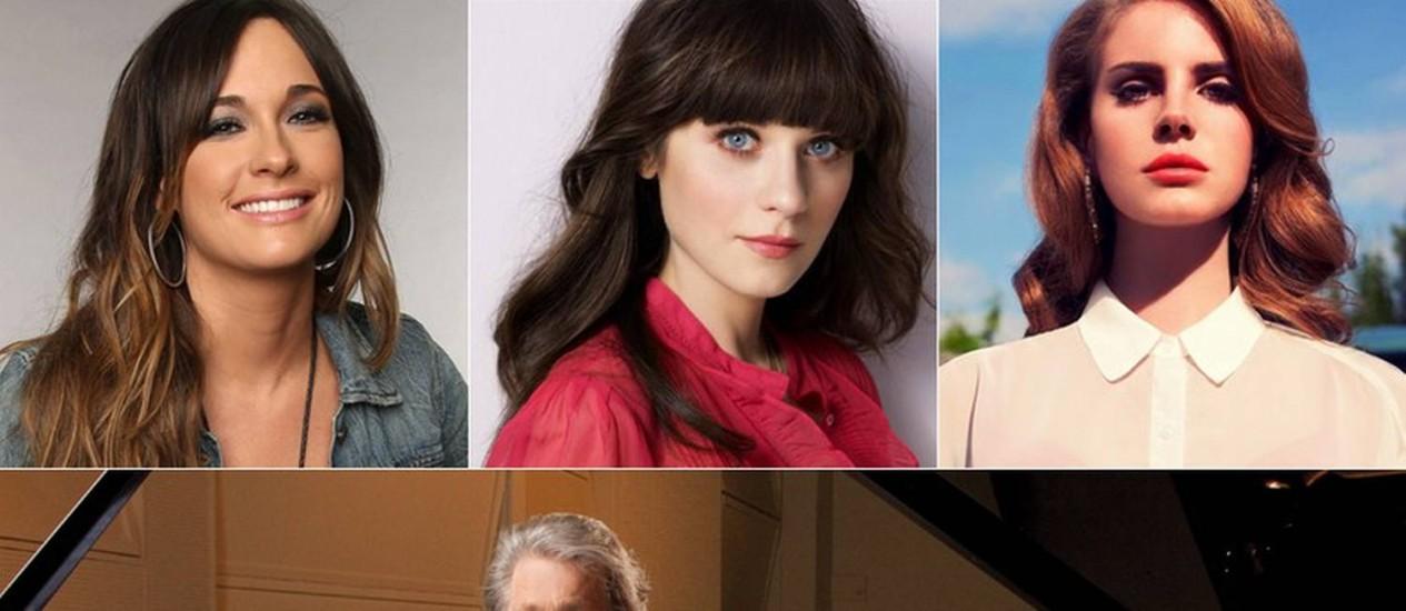Kacey Musgraves, Zooey Deschanel e Lana Del Rey participam de novo disco de Brian Wilson Foto: Divulgação