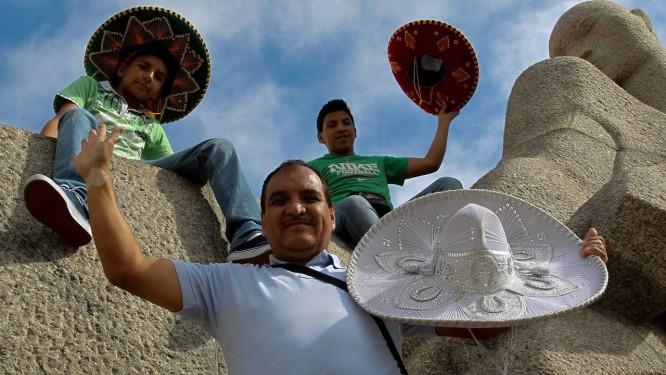 Turistas mexicanos visitam o Parque do Ibirapuera Foto: Marcos Alves / Agência O Globo