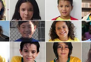 Doze jovens das cidades-sede falam das suas expectativas com os jogos no Brasil Foto: Reprodução