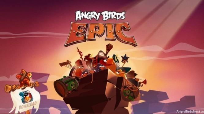 'Angry Birds Epic' é gratuito e está disponível para iOS, Android e Windows Phone Foto: Reprodução