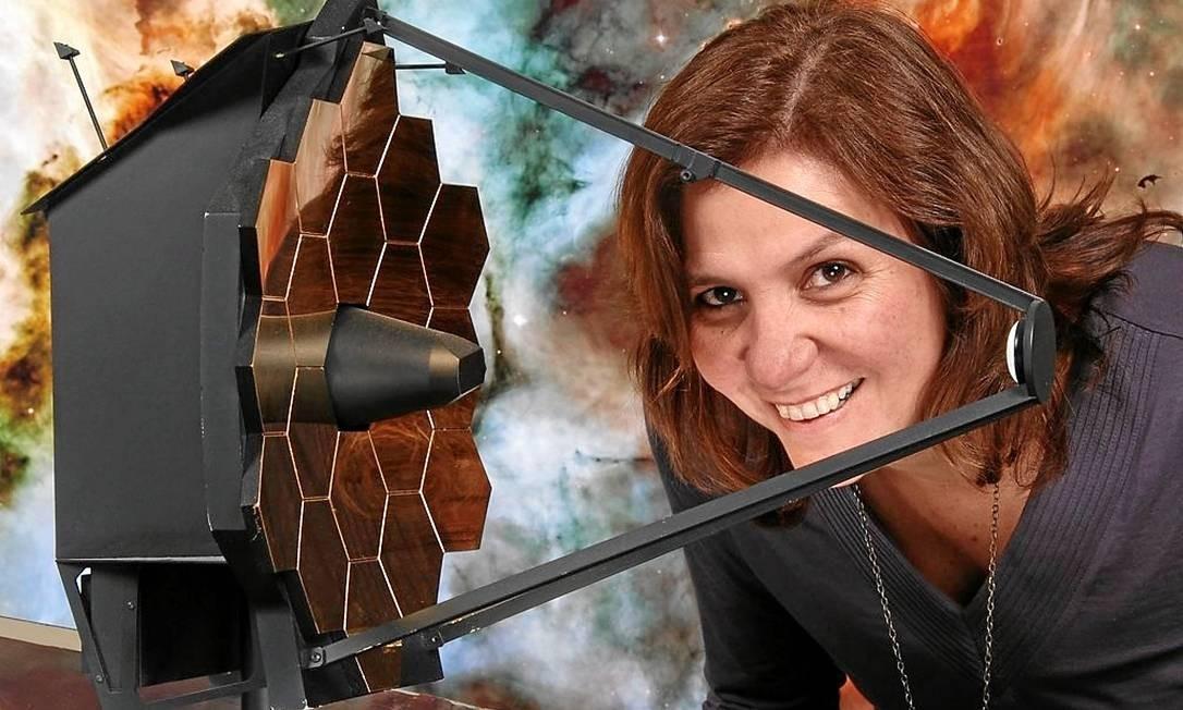 Vencedora do Prêmio Diáspora Brasil em ciências, Duilia de Mello trabalha há 11 anos na Nasa, como especialista em análise de imagens do Hubble Foto: / Tommy Wiklind/Nasa