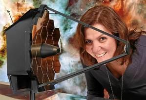 Vencedora do Prêmio Diáspora Brasil em ciências, Duilia de Mello trabalha há 11 anos na Nasa, como especialista em análise de imagens do Hubble Foto: Tommy Wiklind/Nasa